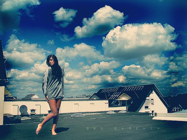 Sky Catcher II by AnjaRoehrich