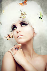 Let me be your butterfly by AnjaRoehrich