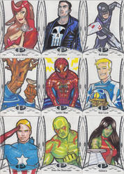Marvel Premier Cards '14 - 2 by Darke-Imp