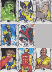 Marvel Premier Cards '14 - 3 by Darke-Imp