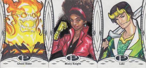 Marvel Premier Cards '14 - 5 by Darke-Imp
