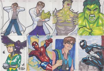 Marvel Premier Cards '14 - 6 by Darke-Imp