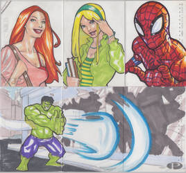 Marvel Premier Cards '14 - 7 by Darke-Imp
