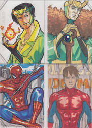 Marvel Premier Cards '14 - 8 by Darke-Imp