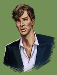 Cumberbatch Study by Darke-Imp