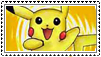 pikachu stamp fans by floralauraheart