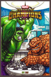 Hulk-vs-Thing-OAV by EnjayArt2kx