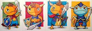 The Miteys! from Ni No Kuni