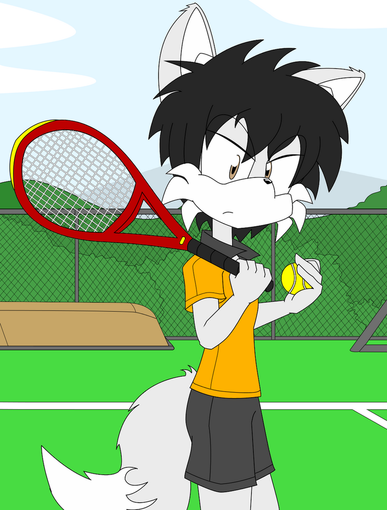 Tennis player by VolksGTiFox