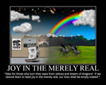 Joy in the Merely Real