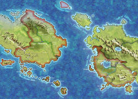 Map of Shireroth by yvaingoldenmoon