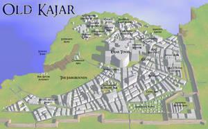 City of Old Kajar by yvaingoldenmoon