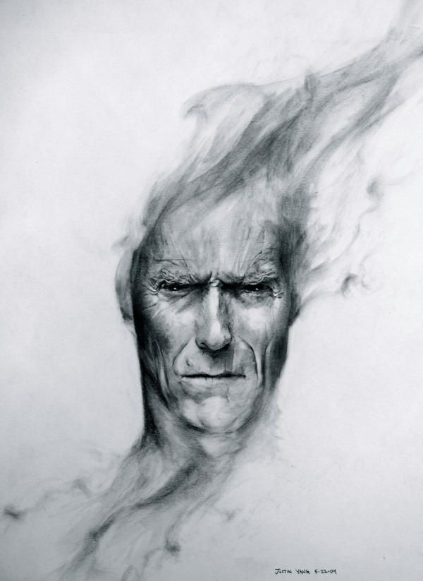 Clint Eastwood by JustinisJustin