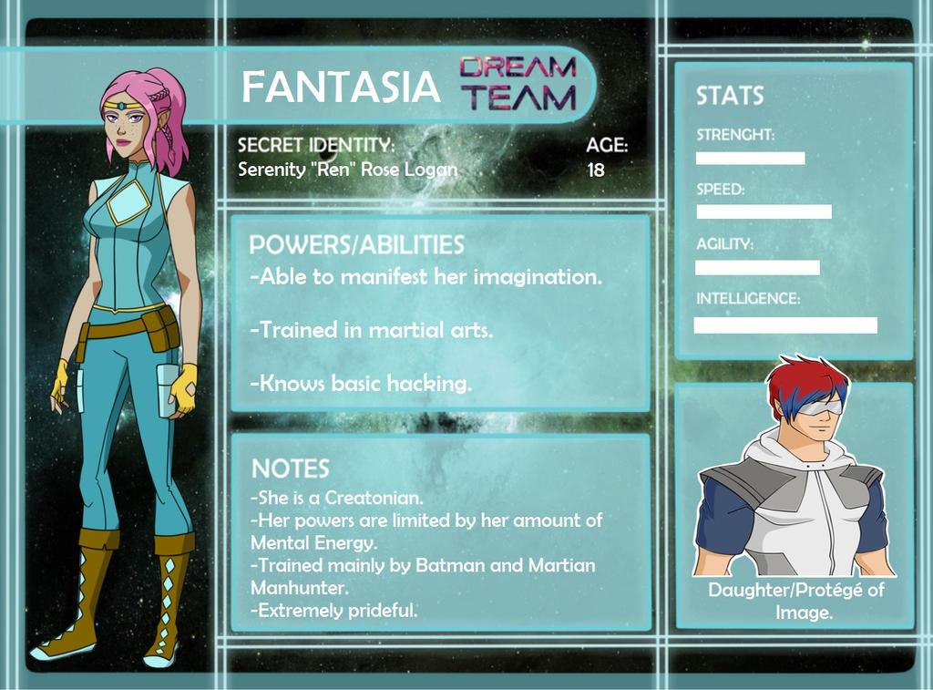 Dream Team App: Fantasia by Zinniia