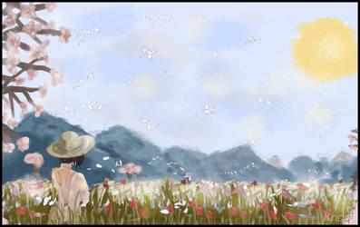 Spring's Aura by Khaqi