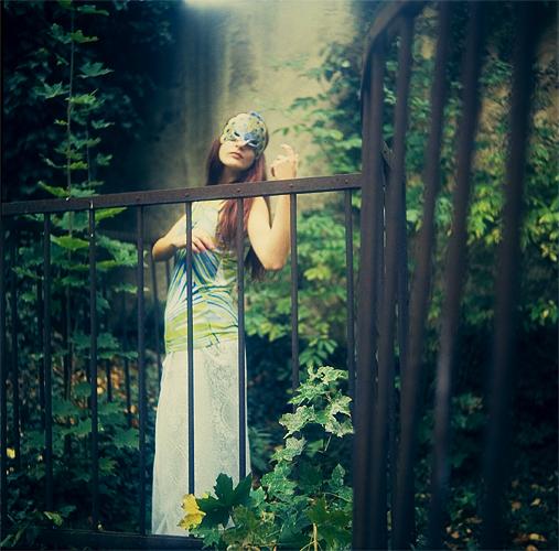 Peacock Garden by Silecia