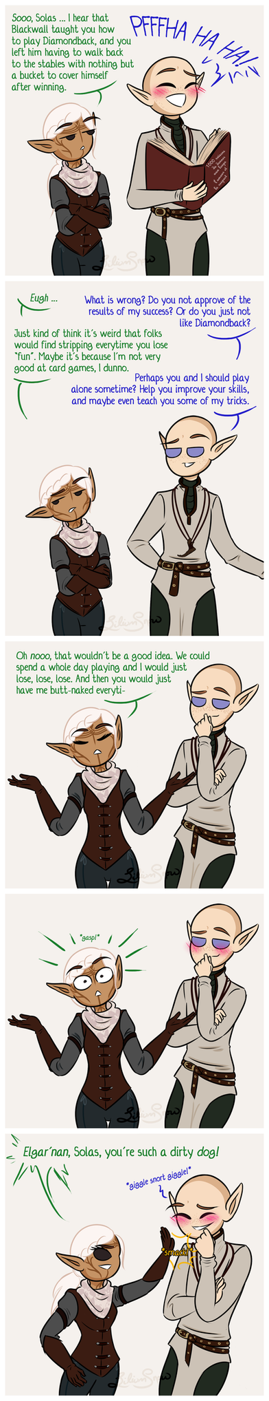 DAI: The Upper Hand by LiliumSnow