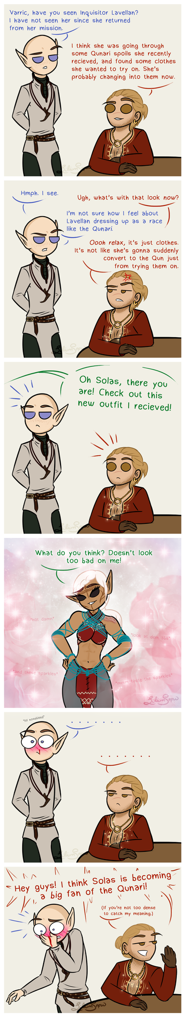 DAI: Dressed to Impress 3 by LiliumSnow
