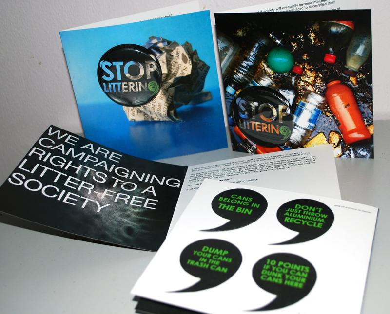 STOPLITTERING.leaflets by misherruXOXO
