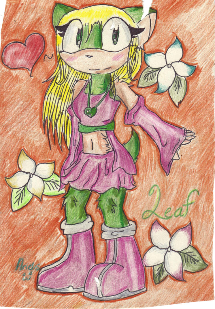 AT: leaf the hedgehog by rebecca-the-chipmunk