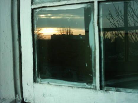 windowed sunrise
