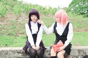 Karuta and Ririchiyo by Ika-xin
