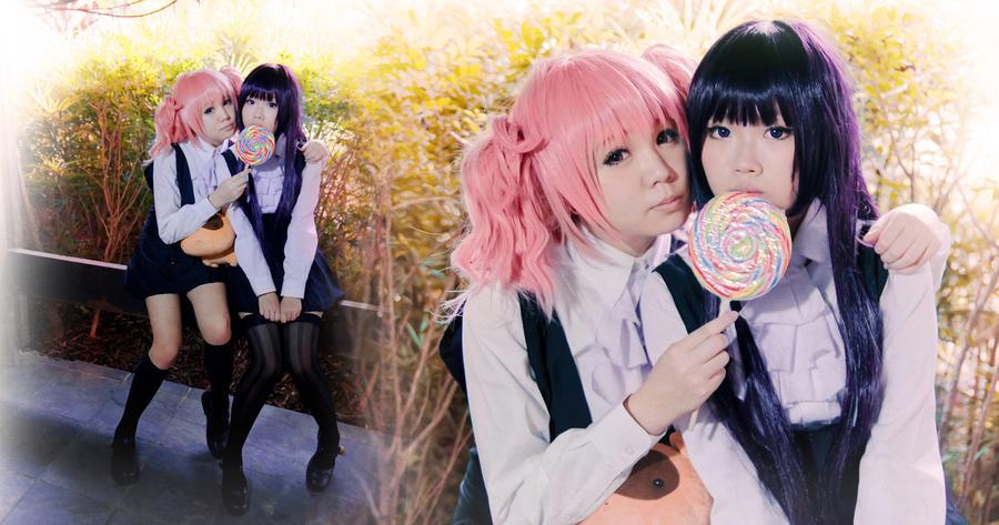 Friendship - Karuta and Ririchiyo by Ika-xin