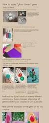 Glass dome gem tutorial by Ika-xin