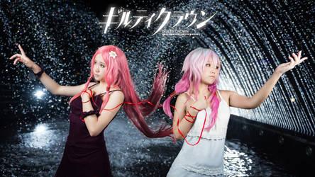 Guilty Crown - Inori and Mana