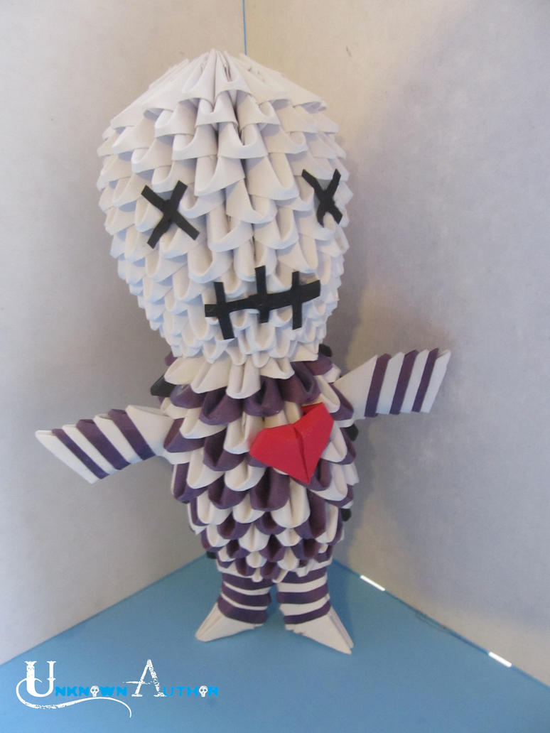 3D Origami - Voodoo Doll by Jobe3DO