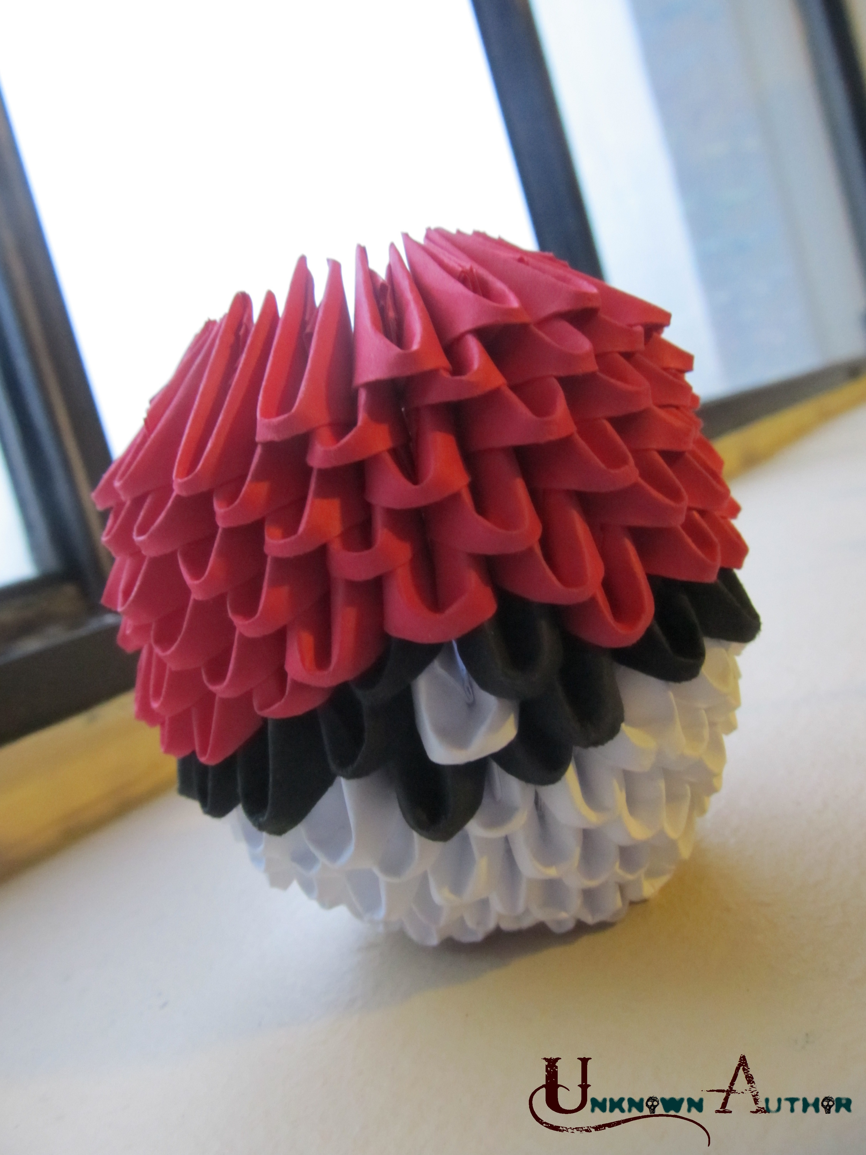 3D Origami - Pokeball by Jobe3DO