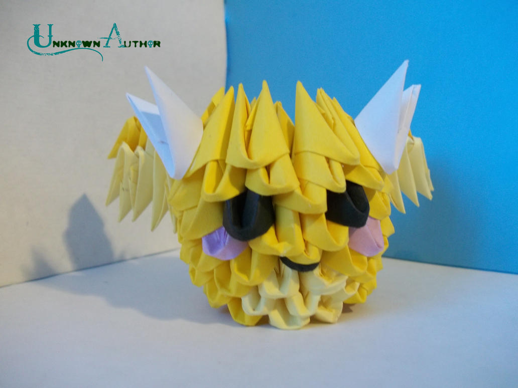 3D Origami - Mini Dragon by Jobe3DO
