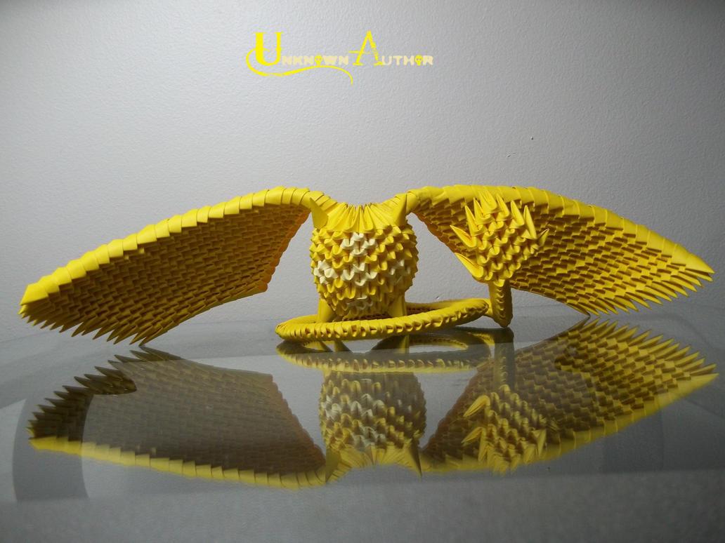 3D Origami - Timcanpy by Jobe3DO