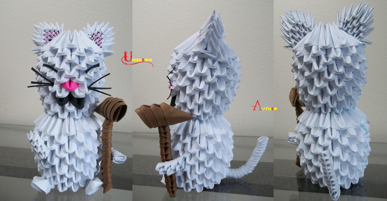 3D Origami - Korin by Jobe3DO