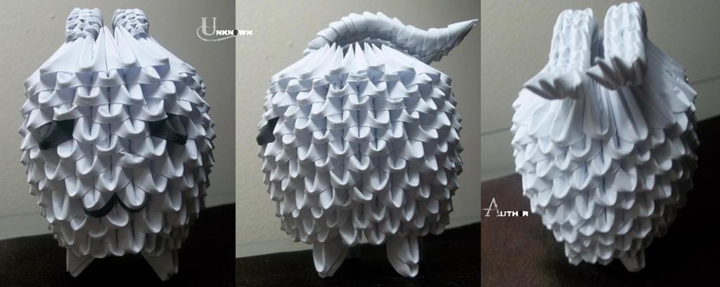 3D Origami - Tokomon by Jobe3DO