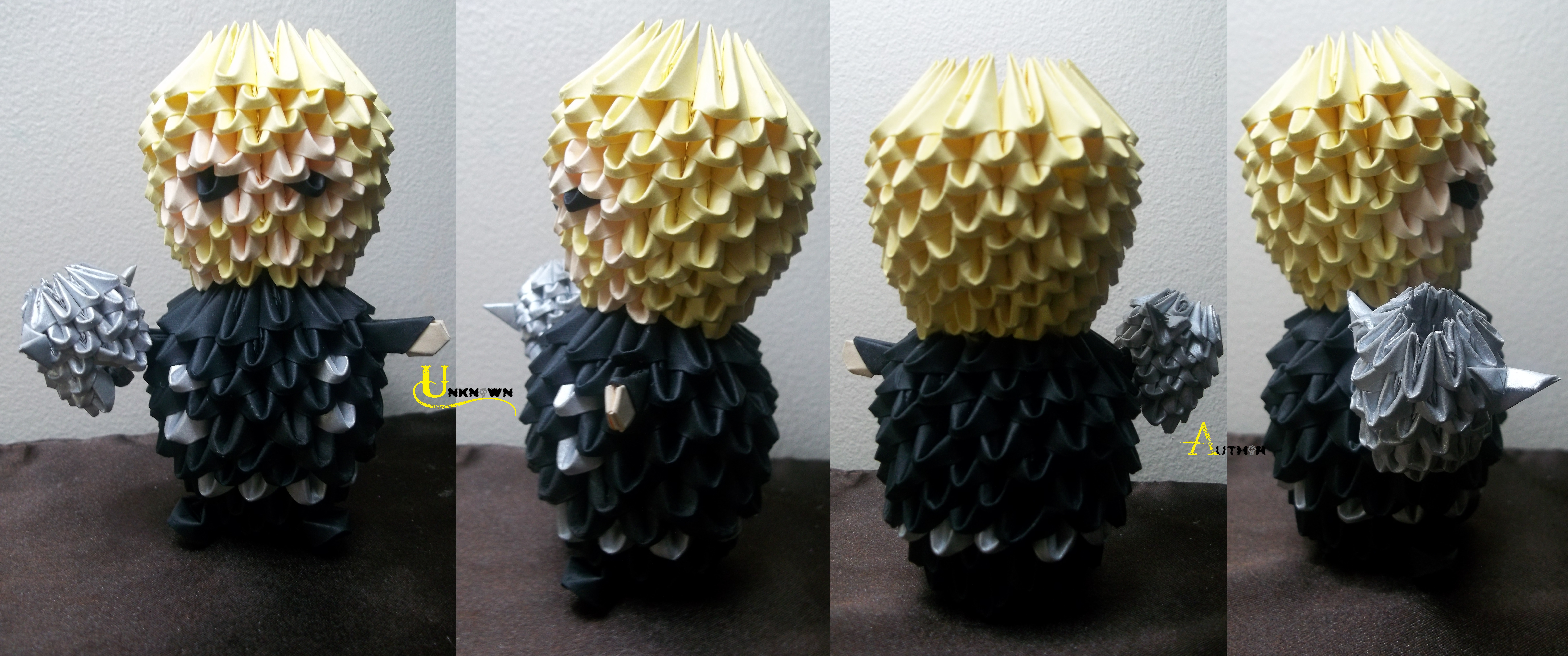 3D Origami - Thor by Jobe3DO