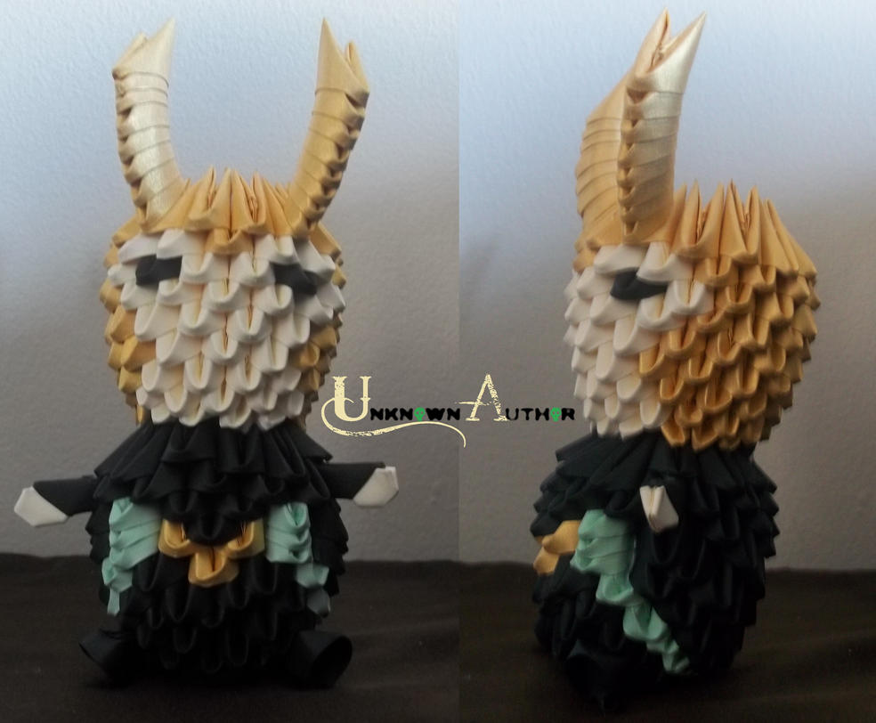 3D Origami - Chibi Loki by Jobe3DO
