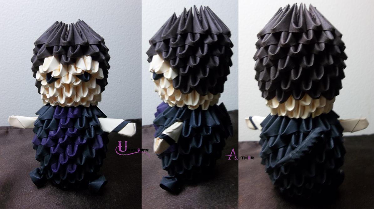 3D Origami - Hawkeye by Jobe3DO