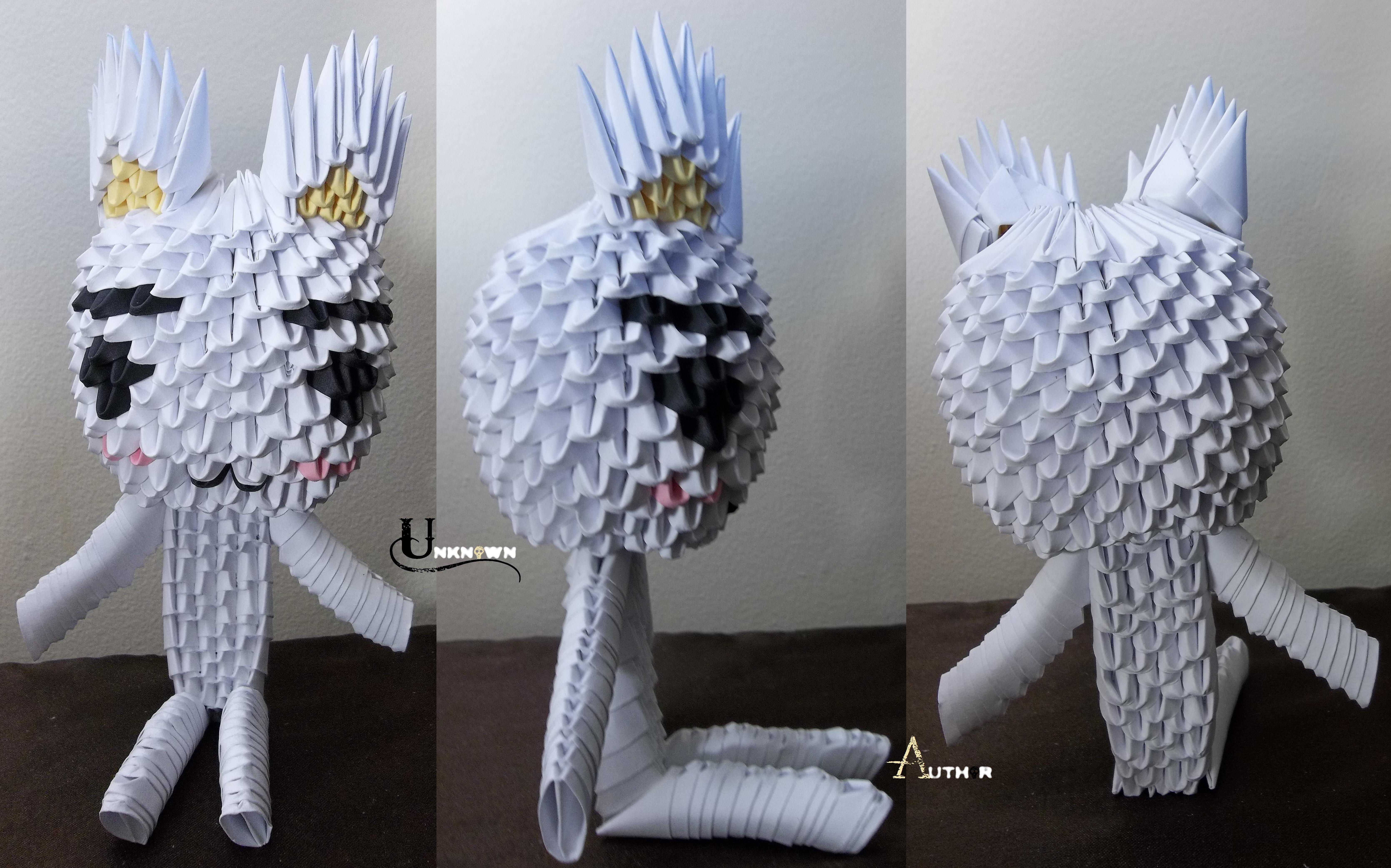 3D Origami - Toro Inoue by Jobe3DO