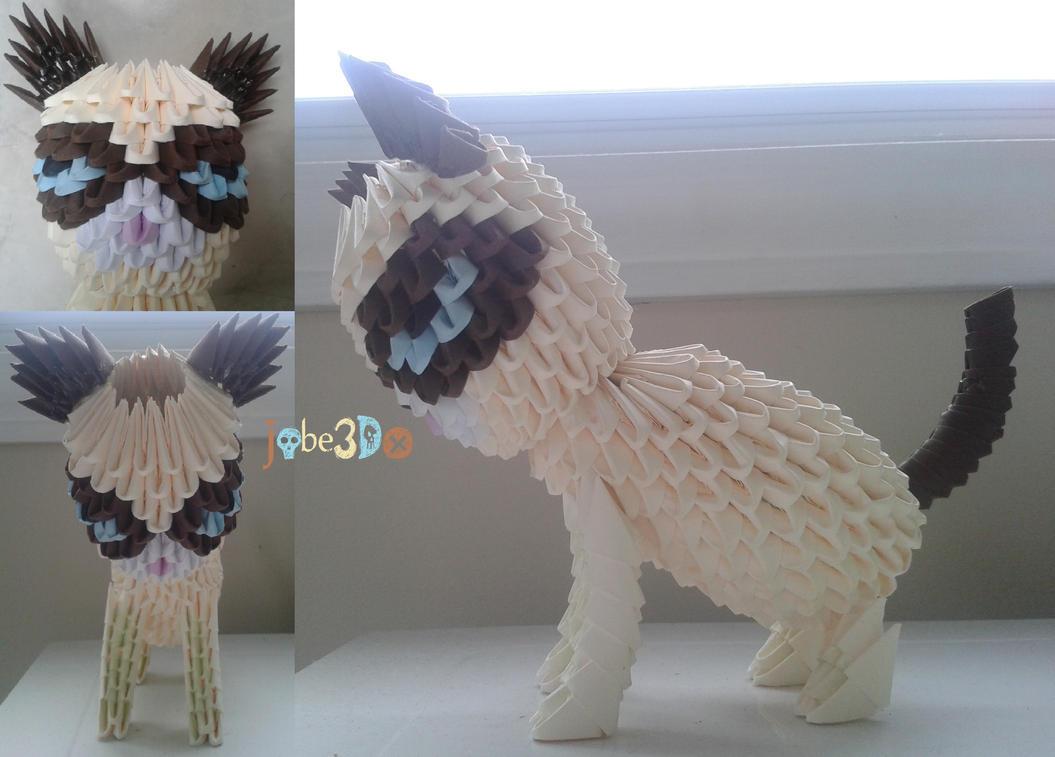 3D Origami - Grumpy Cat by Jobe3DO