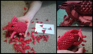 3D Origami - Human Heart by Jobe3DO