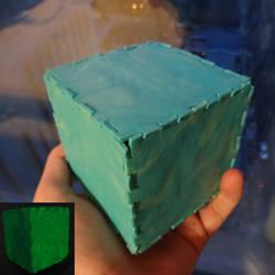 Tesseract Cube