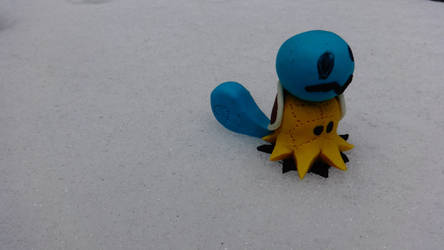 Polymer Clay - Mimikyu Squirtle Form