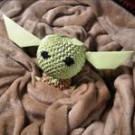 3D Origami - Baby Yoda by Jobe3DO