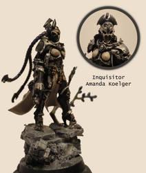 Ordo Xenos Inquisitor Amanda Koelger