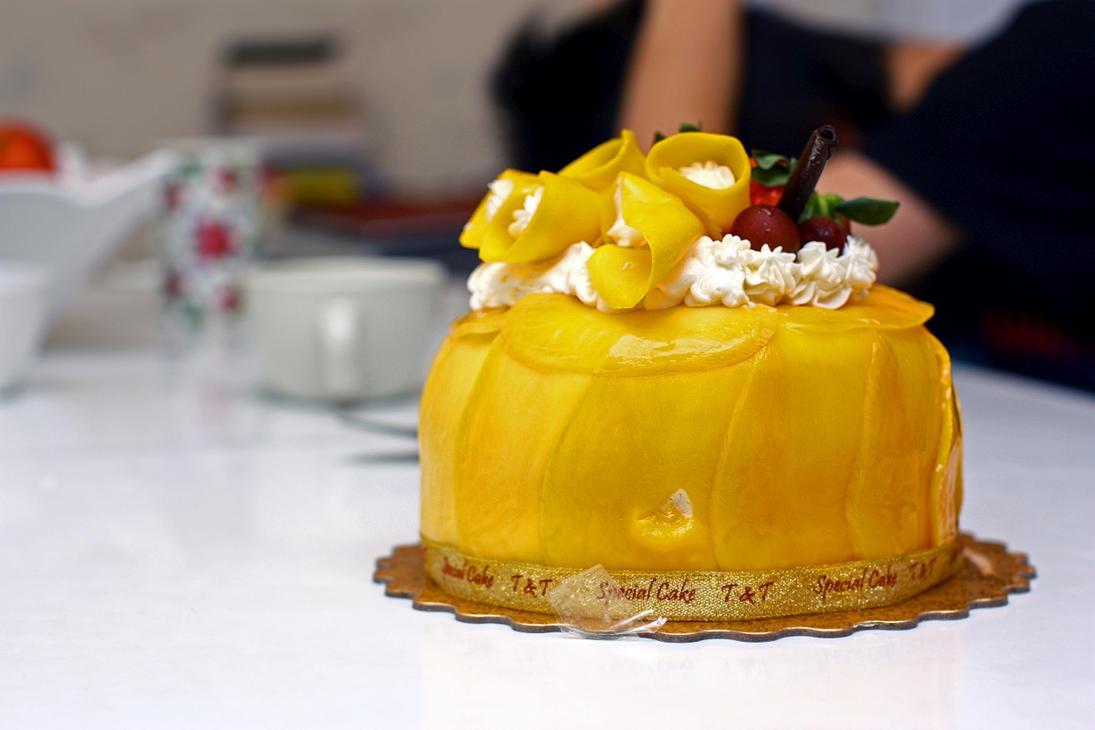 Mango Birthday Cake From Tnt By Forthewinwinx3 On Deviantart