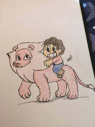 Lion and Steven