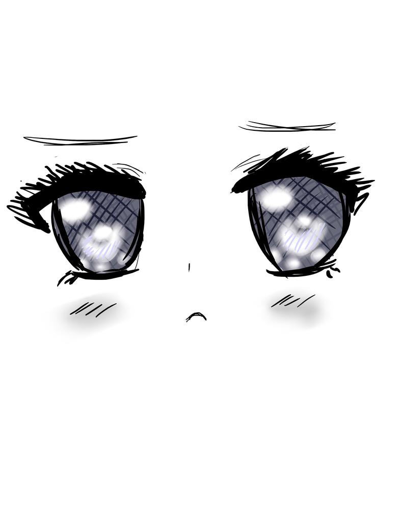 Sad kawaii eyes by KekiHaku on DeviantArt