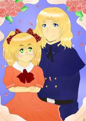 APH: Alice and Francis by KekiHaku