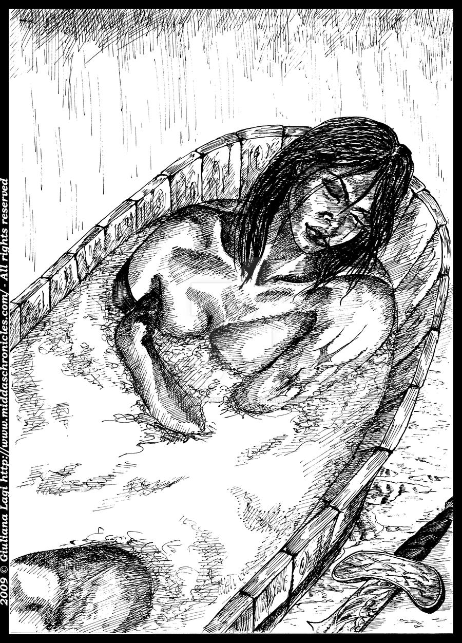 It's bath time: an unpublished art from Book II by middaschronicles